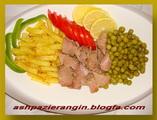 غذاي فوري با كنسرو ماهي